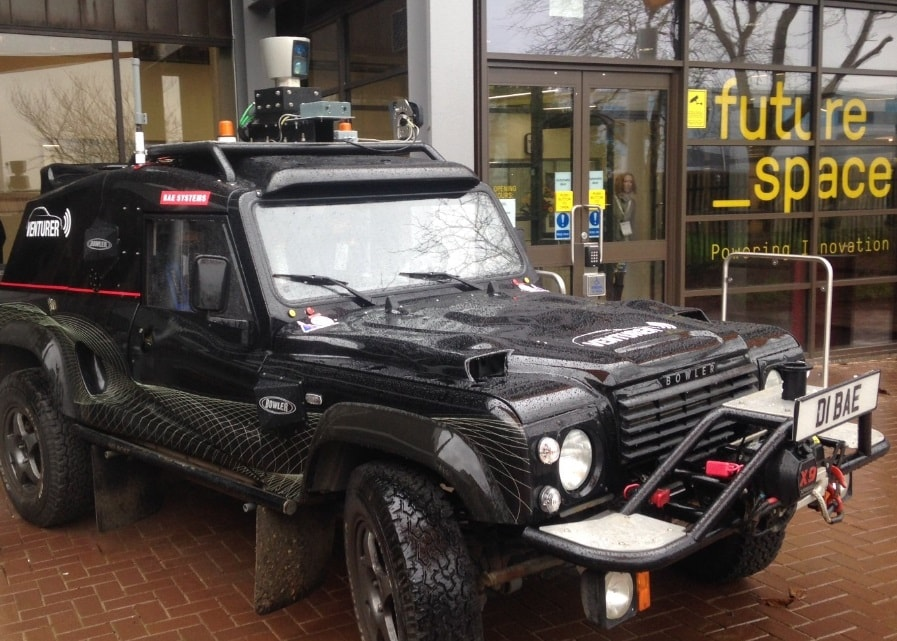 The Wildcat vehicle at Venturefest 2017